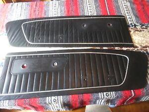 1965-1966 OEM FORD MUSTANG Black Door Panel  Ford