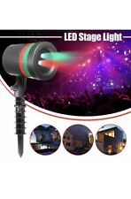 LED Laser Projector Landscape Stage Light Party Xmas Outdoor