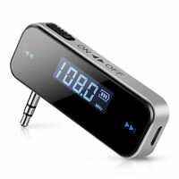 AUX Plug FM Transmitter for iPhone 6 6S plus LG V10 V20 Nexus 5X 6P Pixel XL US