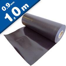 Magnetfolie roh braun unbeschichtet 0,9mm x 62cm x 100cm – Meterware