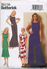 BUTTERICK SEWING PATTERN 6130 MISSES SZ 14-22 TULIP SKIRT DRESS, MAXI & JUMPSUIT