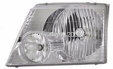 REXHALL AERBUS 06 2006 FRONT LAMP HEAD LIGHT LEFT DRIVER HEADLIGHT RV MOTORHOME