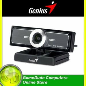 Genius WideCam F100 Full HD1080P with Stereo MIC 120° view - Zoom / Skype [F33]