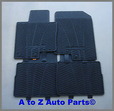 NEW 2011-2014 Hyundai SONATA Tough Rubber ALL WEATHER Front and Rear Floor Mats
