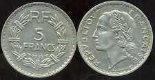 5 francs LAVRILLIER 1935  NICKEL