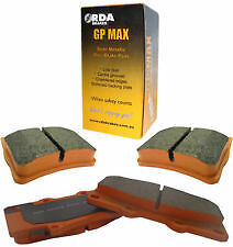 Nissan XTRAIL 2.5L T30 2001-2007  FRONT & REAR set of RDA GP MAX Brake Pads