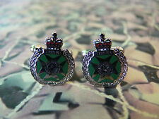 Royal Green Jackets Regimental Cuff Links RGJ Version 2