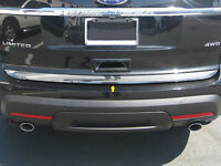 Chrome Rear Deck Trim 1PC QAA Stainless Trunk Accent FOR FORD EXPLORER 2011-2015