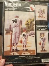 The Game Baseball 105-16 Janlynn Counted Cross Stitch Craft kit New  Sealed
