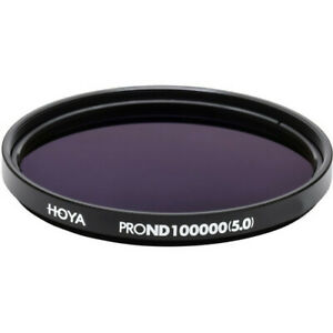 Hoya 77mm ProND-100000 Neutral Density 5.0 Filter (16.5 Stops)
