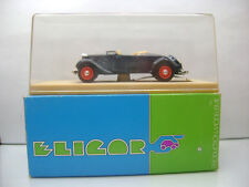 Diecast Eligor Citroen Traction Cabriolet 1/43 Blue Mint in Box incl. Stickers