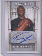 2011 Sage Hit Taiwan Jones Rookie Autograph Oakland Raiders