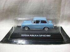 TOYOTA PUBLICA UP10 1961 Blue 1:64 Out of print famous car KONAMI