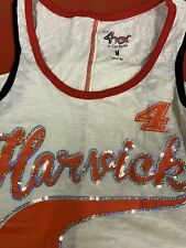 Nascar Kevin Harvick #4 Ladies Muscle Back Tank Size Medium