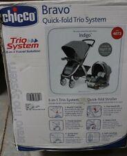 Chicco Bravo Travel System - Indigo New