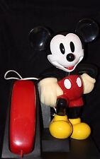 AT&T Disney Mickey Mouse Telephone Black/Red Vintage?
