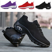 Women's Sports Running Shoes Non- Slip Air Cushion Athletic Sneakers Tennis Gym