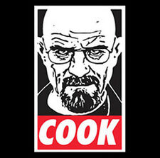 Breaking Bad Walter White Cook Heisenberg Meth Funny Gangster T-Shirt Tee