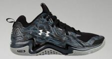 SZ 12 Men's Under Armour TB Micro G Charge Volt Gray Low Basketball 1248416