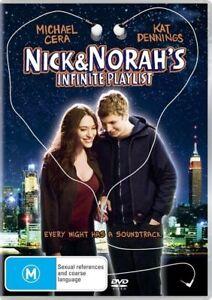 Nick & Norah's Infinite Playlist (DVD 2009) Michael Cera Kat Dennings