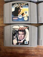 Lot De 8 Jeux Nintendo 64 Loose Perfect Dark Polemon....