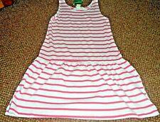 NEW girls h+m pretty stripe summer dress 2 - 3 - 4 YEARS - BNWT