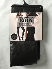 Voodoo BRAND Hot Black Sz Large Leatherette Footless Long Pants