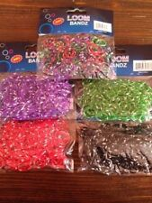 Lot Of 6 Bags *1800 Pc*-Loom Rubber Bands You Choose Colors Latex Lead Free