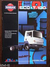 Nissan Eco T-100 Prospekt / Brochure / Depliant, F