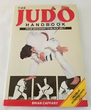 Judo Handbook by Brian Caffary (1989, Hardcover)