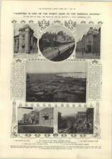 1910 In The City Of Baku, Great Commercial City, Part Of The Oil Industry, Anna