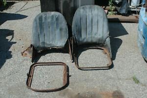 MG MIDGET, SPRITE, BUGEYE EARLY SEAT FRAME CORES - ONE PAIR