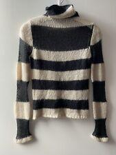 Sisley S Women's Turtleneck Knit Mohair  Sweater