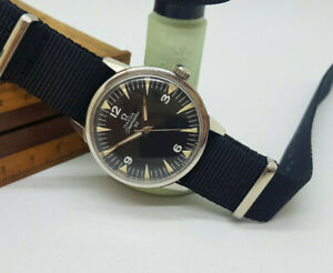 USED 1964 OMEGA SEAMASTER 30 CAL:286 BLACK DIAL MANUAL WIND MOVEMENT MAN'S WATCH