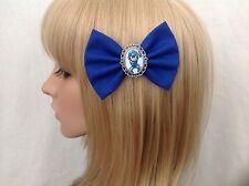 Megaman x hair bow clip rockabilly pin up girls Nintendo mega man geek wii u