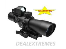 NcStar Gen II 3-9x42 Ultimate Sighting System STP3942GDV2 Red dot Quick release