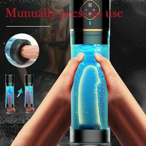 Automatic Suction Electric Penis Pump Vacuum Extender Cock Enlargement Sex Aid