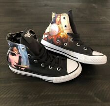 NEW WONDER WOMAN Red White Blue Slip-on Sneakers Youth Girls Size 13-4
