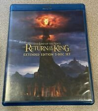 Lord of the Rings Return of the King Extended Edition 5 Disc Set Blu Ray Dvd