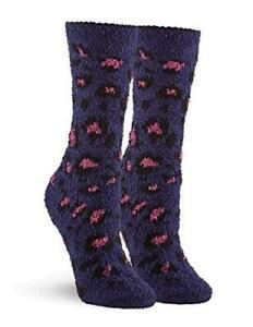 Women's Leopard Plush Slipper Sock, Emperor, One, Emperor, Size One Size jPZe