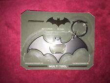 Batman  Batarang  Bottle opener screwdriver Multi Tool  Keyring Chain