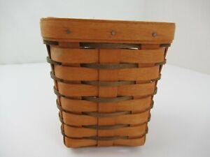 "Longaberger 6"" Spoon Basket 1990"