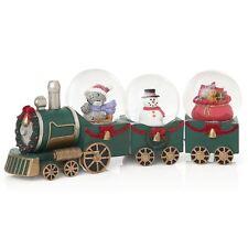 ME TO YOU Babbi Natale arrivando in città FIGURINA Treno di Natale-Tatty Teddy (829)
