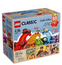 LEGO 10715 Classic Bricks on a Roll 60th Anniversary LIMITED EDITION