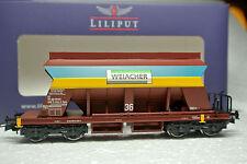 Liliput 235541 HO Swiss SBB-CFF Gravel Wagon Weiacher Kies Era VI C-9 NIB