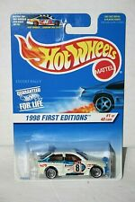 Hot Wheels 1998 First Editions Escort Rally # 637   #1 of 48 ERROR CARD