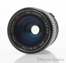Tokina Olympus OM 35-105mm F3.5-4.5 Manual Focus Lens (417-17)