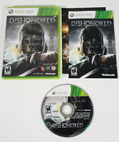Dishonored (Microsoft Xbox 360, 2012) - Complete w/ Manual, Tested