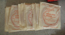 Lot of 14 Vintage Gibson Mona Steel Guitar Strings E or 6th Wound on Nylon NIP