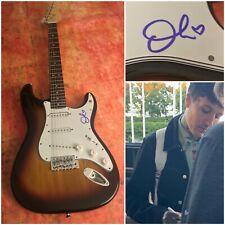 GFA Bring Me The Horizon Band * OLI SYKES * Signed Electric Guitar PROOF S6 COA